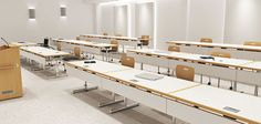 Nevins Pinnacle Training Tables add functionality to any classroom environment