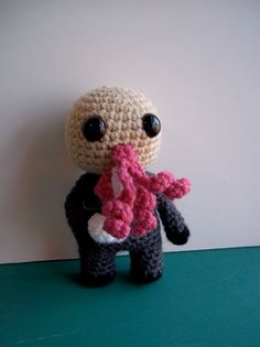 Dr Who Craft: Amigurumi Ood