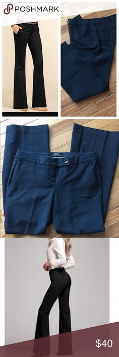 🆕 Kate fit bootcut pants Black dress pants. 29 inch inseam, size 6 short.  16 flat across waist, 2 front and back pockets. Excellent used condition. Victoria's Secret Pants Boot Cut & Flare