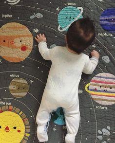 Space Crib Bedding: