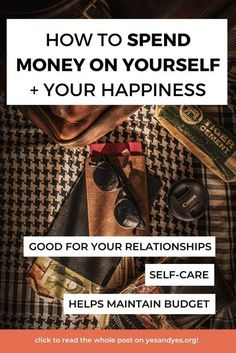 This is not a post filled with budgeting tips or advice on how to save money. This is a post filled with advice on the weirdly hard topic of spending money on ourselves. If you're a mom, this might be something you struggle with! Read on for tips on how to stop. #FIRE #budgetingtips #moneytips #personalfinance