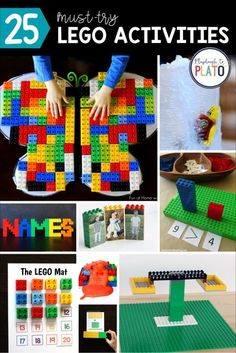 The best Lego activities for kids that will have them engineering and creating while learning and practicing important skills like math, literacy, and even science! A great addition to any of your Pre-K, Kindergarten or Grade One centers too!
