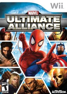 Marvel Ultimate Alliance - Nintendo Wii Activision