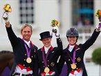 Day 11: Equestrian Team Dressage medals