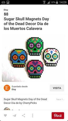 Skulls Perler beads