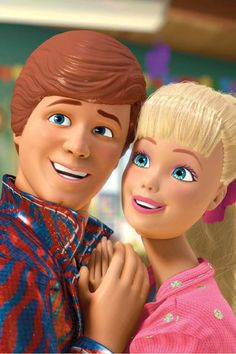 Toy Story 3. Ken and Barbie.