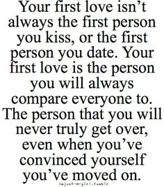 This Will Get You Thinking #Quote #Love #FirstLove #Inspirational