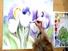 Watercolor Demonstration Tulip by Amy Hautman new.mov