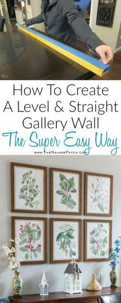 Feb 27, 2018 - Take the pain and frustration out of hanging frames for a gallery wall with this foolproof method for getting level and evenly-spaced frames every time! Printable Wall Art, Printable Vintage, Vintage Bird Illustration, Engineer Prints, Wall Paper Phone, Hanging Pictures, Inspiration Wall, Diy Wall Decor, Botanical Prints