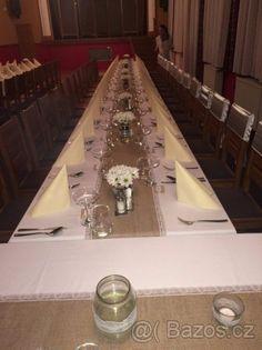 svatební výzdoba stolů hnědá - Hledat Googlem Table Settings, Place Settings, Tablescapes