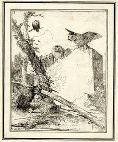 Les Caprices de Tiepolo Giovanni battista (père)1740