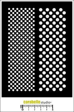 Découvrez les pochoirs Art Template de CARABELLE STUDIO. Parfaits pour la réalisation de motifs en scrapbooking, carterie, mixed media.