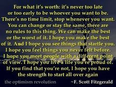 Soul www coastet...F Scott Fitzgerald Quotes For What Its Worth