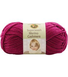 reg. $7.99- 72% Superwashed Merino Wool, 15% Naylon, 13%cashmere-- 1.4oz (40g) 87yards-- IDEAL FOR BABY PROJECTS! can be machine washed, dry flat