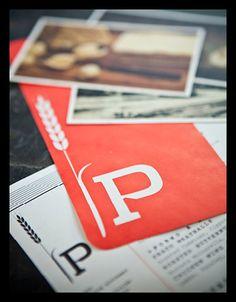 Branding for Prato restaurant, Winter Park, FL by B.B. Barn Design