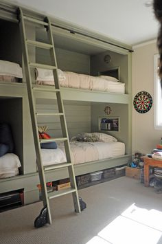 kids bunk room. or maybe a separate room for when extra people sleep over?