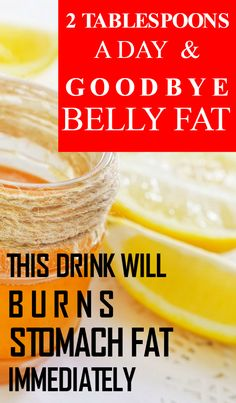 2 Tablespoons A Day And Goodbye Belly Fat. This Drink Will Burns Stomach Fat Immediately!!! - Life on Hands