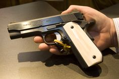 1911 with bone grips - Google Search