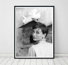 4997161f119 Audrey Hepburn print • Audrey Hepburn poster Fashion art Audrey Hepburn  photo Audrey Hepburn art print large wall art print dove printable