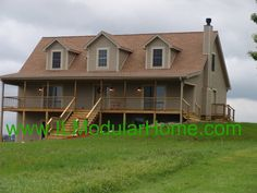 Modular home cape cod with walk out basement modular for Cape style modular homes