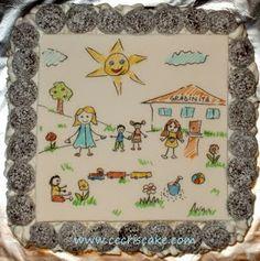Torturi artistice: Children drawing