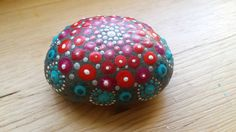 Gift for the Home Mandala Stone Home Hearth Jewel by ArtsOfAnanda Stone Houses, Hearth, Christmas Bulbs, Mandala, Stones, Jewels, Holiday Decor, Unique Jewelry, Handmade Gifts