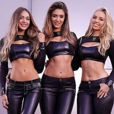 Happy Monster Grid Girls in Wetlook Outfits Monster Energy Girls, Happy Monster, Spandex Girls, Promo Girls, Umbrella Girl, Grid Girls, Girls In Leggings, Gorgeous Women, Beautiful