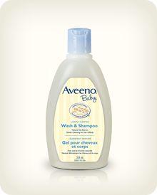 AVEENO® BABY® Wash & Shampoo   #bigbabybasketsweeps