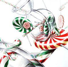 #평면조형미술학원 #기초디자인 #레이아웃 #화면구성 #사탕 #개체표현 #투명질감 #평촌학원가 Rooster, Objects, Drawings, Anime, Painting, Watercolour, Painting Art, Roosters, Sketches