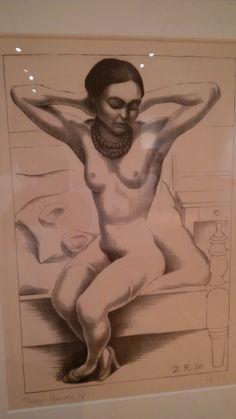 Diego Rivera Desnudo (Frida Kahlo), 1930 Litografía a lápiz