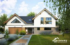 Malachit Home Building Design, Building A House, House Design, Bungalow Conversion, Bungalow Extensions, Self Build Houses, Exterior Remodel, House Front, Home Fashion