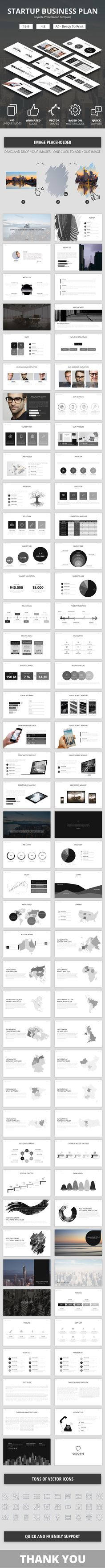 Startup Business Plan Keynote Presenation Template                                                                                                                                                                                 More