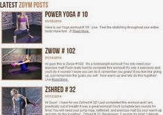 Zuzana or BodyRock Addict: I stand corrected! There are new workouts in the ZGym
