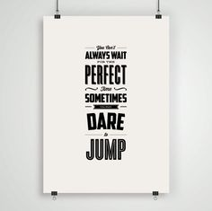 Inspirational Quote Motivational Typography by TheMotivatedType