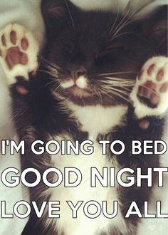 Good night love you!!!!