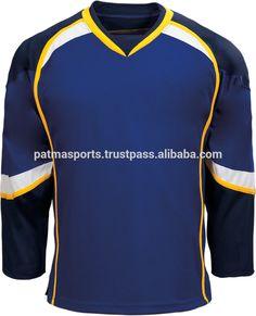 Cheap Price Custom Made Embroidery Ice Hockey Jersey tackle twill / Sports Wears patmasports
