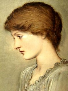 Margaret Burne Jones (1889) - (the artist's daughter at the age of 20) by Sir Edward Coley Burne Jones (1833-98) - (Rex Harris)