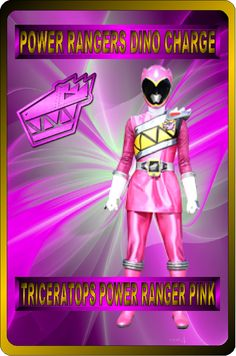 Pink Dino Charge Ranger by rangeranime on Power Rangers Morph, Power Rangers Fan Art, Pink Power Rangers, Famous Toons, Naruto Sage, Power Ranger Party, Mighty Morphin Power Rangers, Superhero Party, Powerful Women