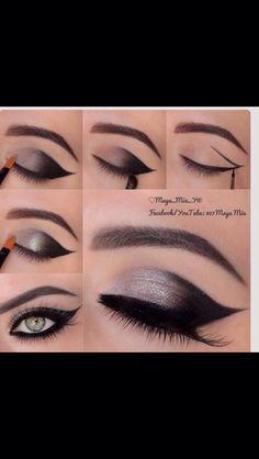Beautiful Eye Makeup Quick And Easy! #Beauty #Trusper #Tip