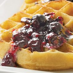 Spread homemade Blueberry Jam on waffles or toast. It's also delicious swirled into prepared oatmeal or vanilla yogurt.