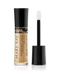 Mary Kay Lip gloss in Cream & Sugar. I use this for a nude lip color :)