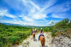 Vida Aventura Park in Guanacaste: Zipline Tour, Horseback Ride and Hot Springs ($74.99) #costarica #tours