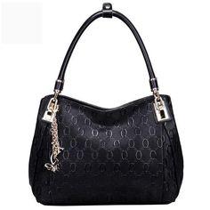 FOXER Brand Women Cow Leather Shoulder bag Fashion Design High quality Women's Handbag Female Handbag Chain lines Shoulder bags