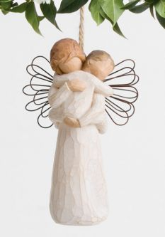 Willow Tree®  Angel Embrace Ornament found at the Angel Superstore.com!
