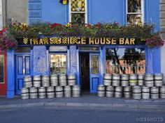 Colorful Pub, Kilkenny, Ireland: I found this pic of Tynan's Bridge House Bar. We visited here because my Great, great grandmother Brigid Tynan was from this area of Kilkenny. The pub is no longer owned by Tynans.