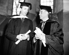 Jimmy Stewart being honored at Princeton University, February 1947