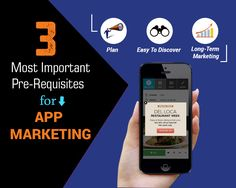 3 Most Important Pre-Requisites for App Marketing - Apps Discover Effective Marketing Strategies, App Marketing, App App, Restaurant Week, Apps, How To Plan, App, Appliques