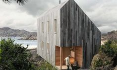 Prefab eco-shelter by Backcountry Hut Company