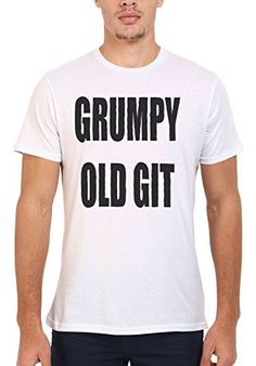 """Grumpy Old Git Checklist Shirt. """"Because you know it's true. When Is Fathers Day, White Man, Funny Jokes, Birthday Gifts, Dads, Unisex, Mens Tops, T Shirt, Stuff To Buy"""