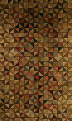 Geometric Hooked Rug - Current price: $150